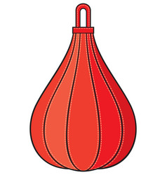 boxing pear vector image