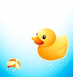 Bathroom duck vector