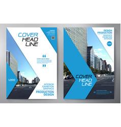 Business brochure flyer design leaflets a4 vector