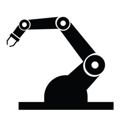 Industry robot icons vector