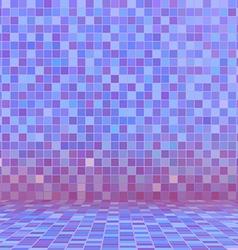 purple swimming pool ceramic vector image vector image