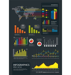 Infographics set vector