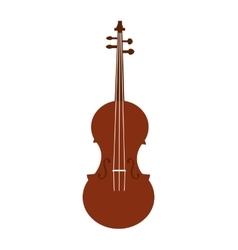 Cello instrument music melody icon graphic vector
