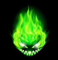 Halloween fair Green 01 vector image vector image
