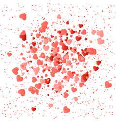 Heart pattern background vector