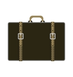 Journey suitcase travel fashion bag trip baggage vector