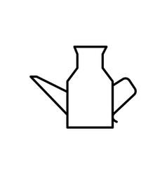 kitchen jug icon vector image vector image