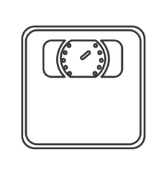 scale digital measure icon vector image