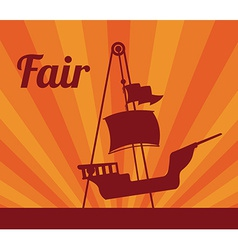 Fair design vector