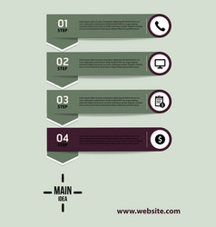 Creative infographics elements eps10business vector