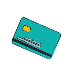credit card finance vector image