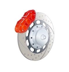 Photorealistic brakes vector