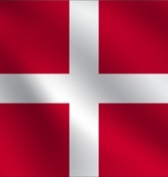 Sovereign military order of malta flag vector