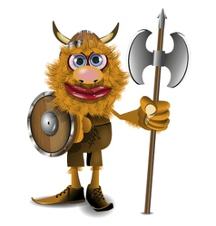 good viking vector image