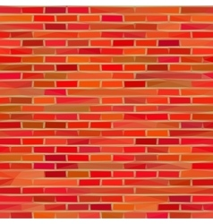 Brick wall low poly vector