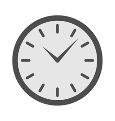 clock watch isolated vector image