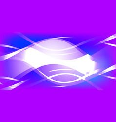 Background of white waves vector