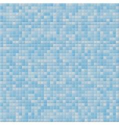 Blue tile wall vector