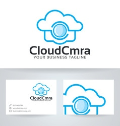 Cloud camera vector