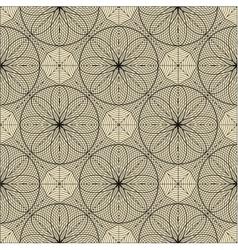 Engineering draft seamless pattern vector image vector image