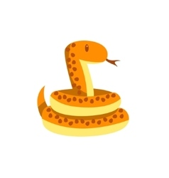 Toy Boa Snake vector image vector image