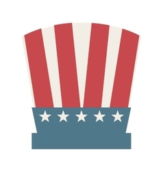 Hat united states of america vector