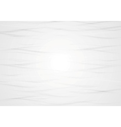 Abstract wavy light grey texture background vector image vector image