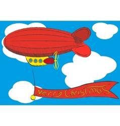 airship vector image vector image