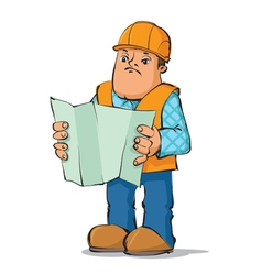 Builder reading plan vector