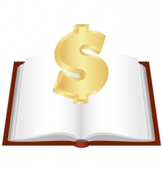 cash book vector image vector image