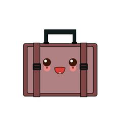 Kawaii case business accessory handle cartoon vector