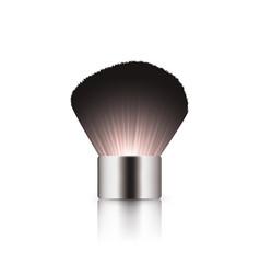 Make up brush kabuki vector