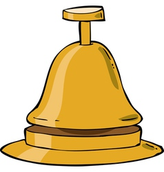 reception bell vector image vector image