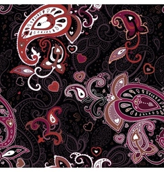 Vintage Paisley pattern vector image
