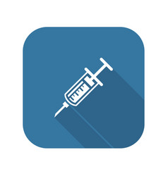 Vaccination and medical services icon vector