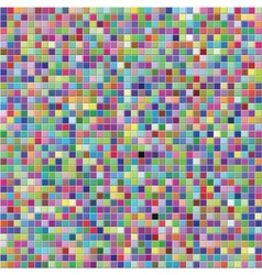 Colorful tile wall vector image