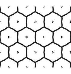 Hexagon seamles pattern vector
