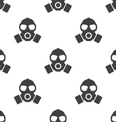 respirator seamless pattern vector image vector image