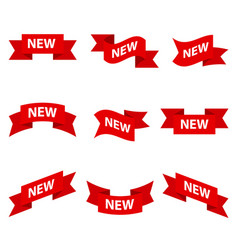 set of advertising banners vector image