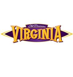 Virginia Old Dominion vector image