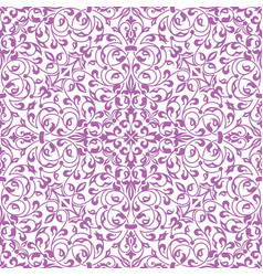 Floral seamless pattern element in arabian style vector