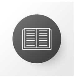Literature icon symbol premium quality isolated vector
