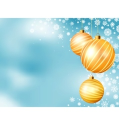 Light blue christmas backdrop vector