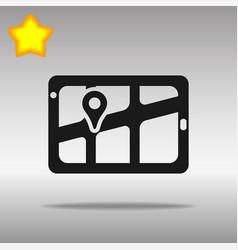Gps navigator location vector