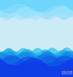 Sea wave 005 vector image