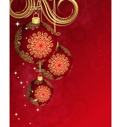 Christmas card for your design vector