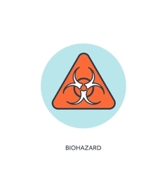 Biohazard danger vector