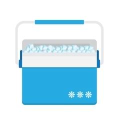 Bag refrigerator icon Cooler symbol vector image