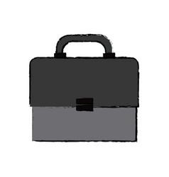 Business portfolio document briefcase work vector