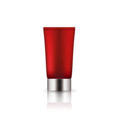 Empty package for skincare cosmetic vector
